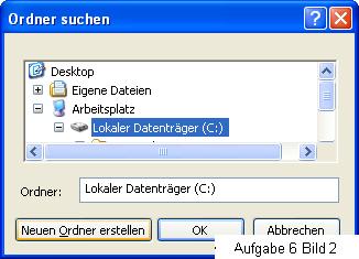 Bild 2 Ordner erstellen unter Windows